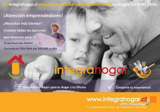 Todo lo que necesitas está en www.integrahogar.cl