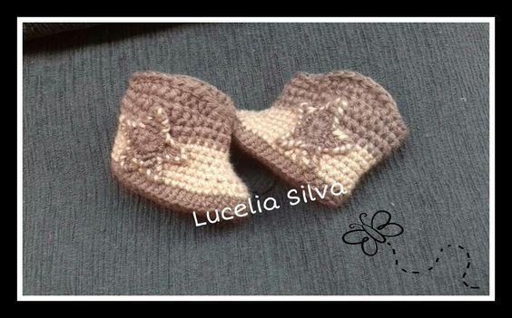 (108) Lucelia Silva Artes em Croche e Ponto cruz