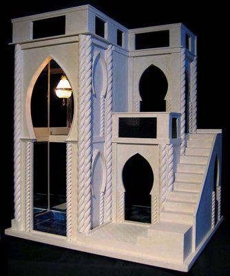 Mark Turpin custom miniature dollhouse