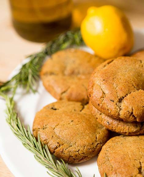 Rosemary Balsamic Cookies