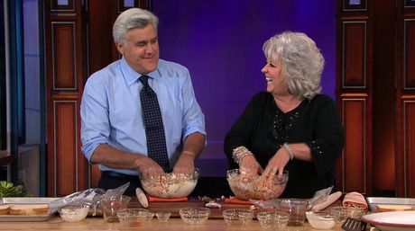 Paula Deen'S Cheeseburger Meat Loaf Recipe | The Tonight Show | The Tonight Show with Jay Leno
