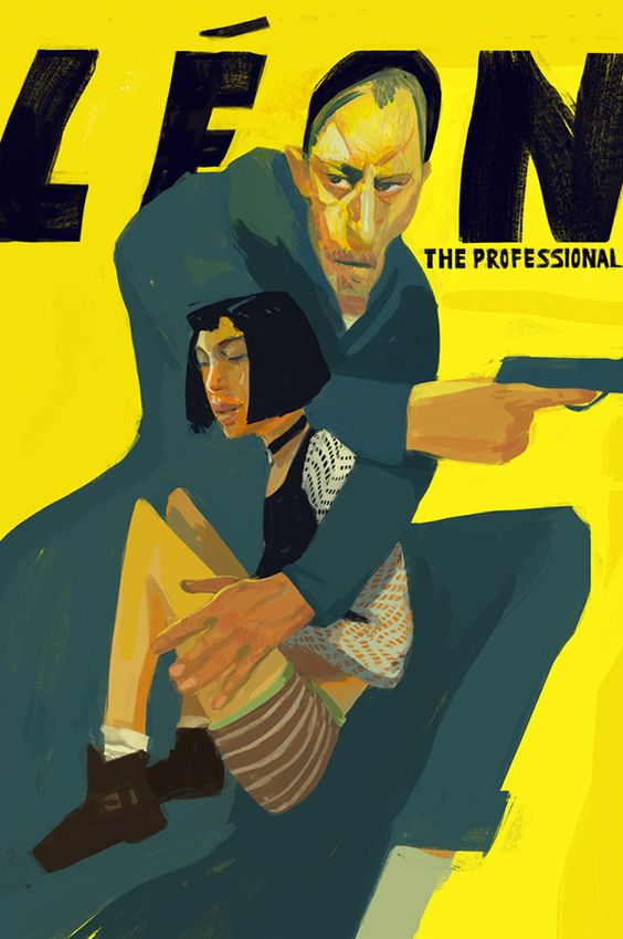 Leon: The Professional by Ryan McShane, via Behance