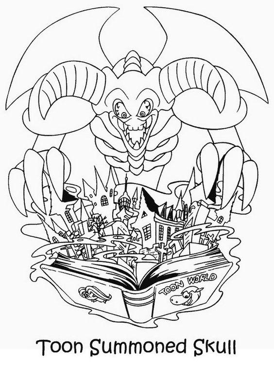 Disegni da colorare per bambini. Colorare e stampa Yu-Gi-Oh 36