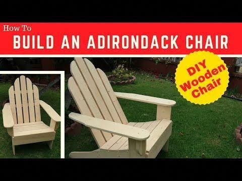 2 Building An Adirondack Chair Woodworkweb Youtube