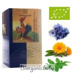 Ceai ecologic de plante Buna dimineata, 20 pliculete
