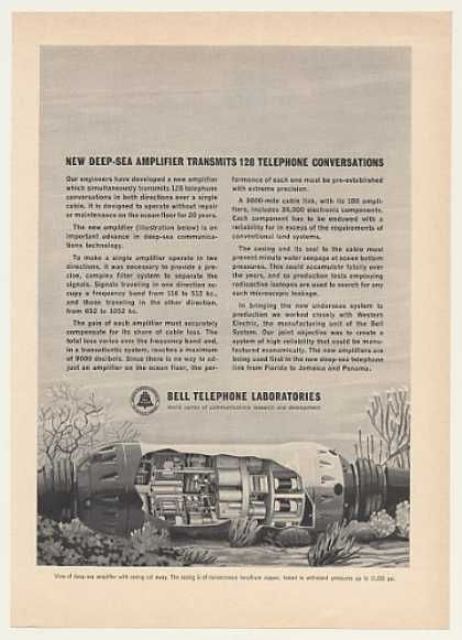 Bell Telephone Labs Deep-Sea Amplifier (1964)