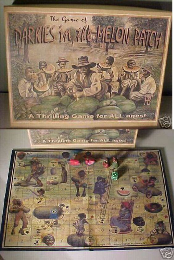 """""""Darkies in the Melon Patch,"""" published by The Hudson Brothers Publishing Company 