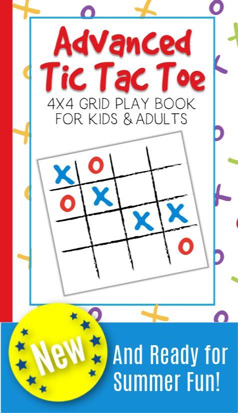 Advanced Tic Tac Toe: 4x4 Grid Play