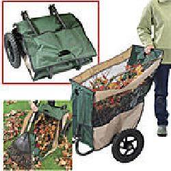 Fold Away Yard & #Garden Cart