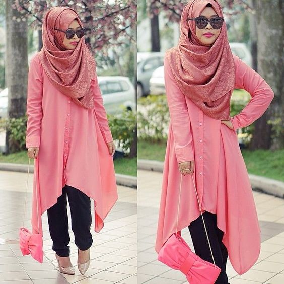 simple hijab outfit ideas , Google Search