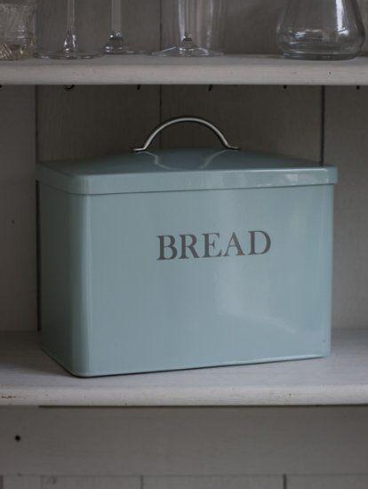 Garden Trading Bread Bin, Shutter Blue: Amazon.co.uk: Kitchen & Home