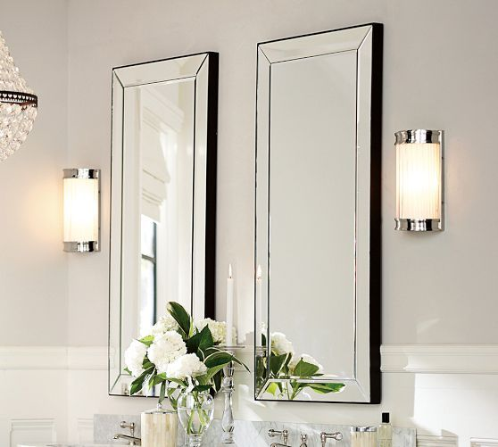 Astor Mirror Pottery Barn Bathroom Remodel Ideas