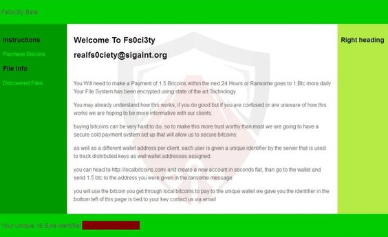 Fs0ci3ty Ransomware. How to Remove? (Detailed Free Guide)