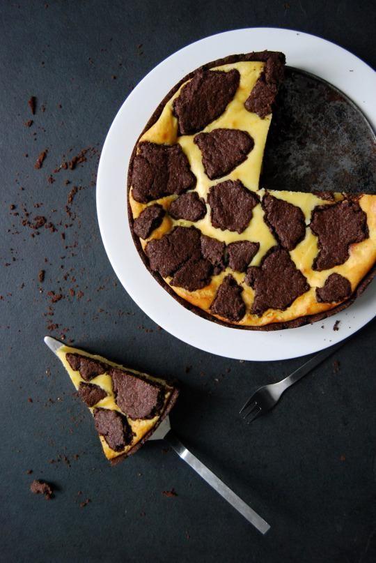 Chocolate Ricotta Cheesecake (Russischer Zupfkuchen)