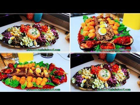 بمكونات موجودة في كل مطبخ حضري عراضة متولة سلطة من سبع خضرو كفتة معمرة بمقبلات لذيذة Youtube Food Cobb Salad Salad