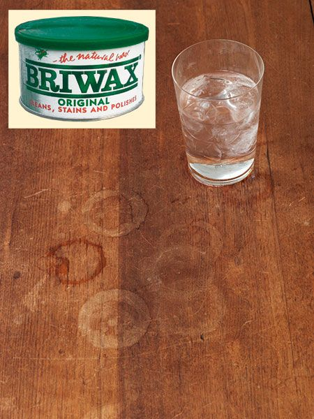 How To Get Rid Of Water Rings On Painted Wood