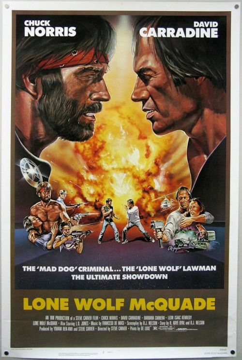 LONE WOLF McQUADE- best Chuck Norris movie ever.