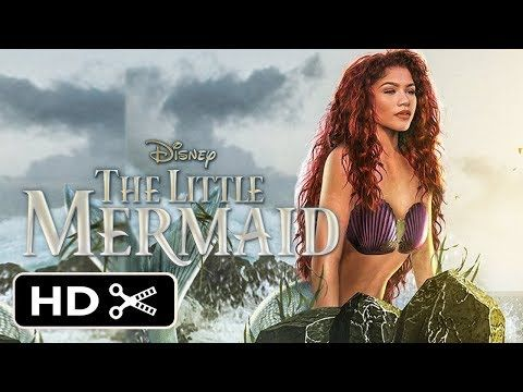 The Little Mermaid Live Action Trailer 2020 Zendaya Disney Princess Movie Hd Youtube New Disney Movies Disney Princess Movies Mermaid Movies