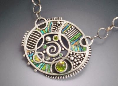 Secret Life of Jewelry - A Universe of Handcrafted Art to Wear: Fun and Colorful - Liz Hall Jewelry