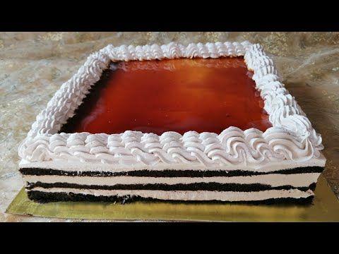 مشاو فيها الباتيسريات طرطة اعياد الميلاد والمناسبات بالكراميل بطريقة جد مبسطة وسهلة مذاق ولا اروع Youtube Cake Food