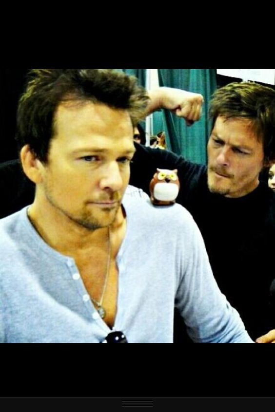 Sean patrick flanery, Norman and Sean o'pry on Pinterest