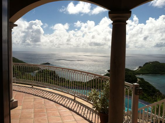 Just one of the views from one of the villas that we have stayed in the 10 years!!  Love St John, USVI