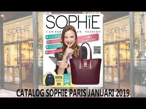 New Catalog Sophie Martin Paris Januari 2019