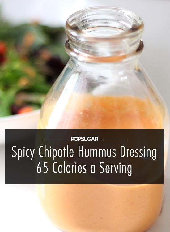 Your New Favorite Dressing: Spicy Chipotle Hummus Dressing: