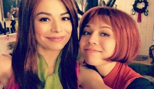 Miranda Cosgrove & Jennette McMurcy❤