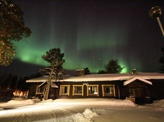 Northern Lights over Lake Inari - Northern Lights Tours in Lapland
