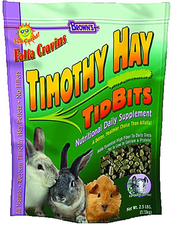 TIMOTHY HAY TIDBITS
