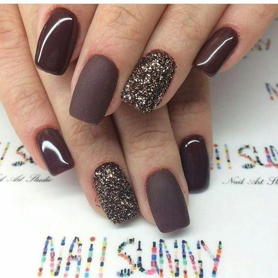 54 Stylish Fall Nail Designs And Colors You Ll Love Classy Nail Designs Classy Nails Fall Nail Art Designs