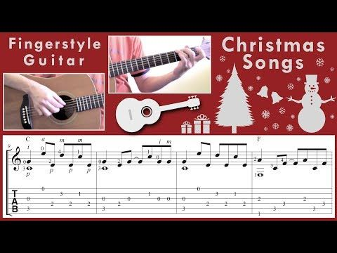 Fingerstyle Guitar Christmas Songs Non Stop Youtube Fingerstyle Guitar Christmas Song Songs
