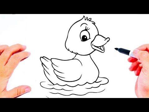 رسم سهل رسومات بالرصاص رسم بطة بطريقه سهله تعليم الرسم للاطفال تعلم الرسم Youtube Art Fictional Characters Character