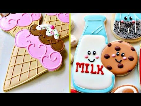 Cookies Tasty  Awesome Cookies Art Decorating Compilation