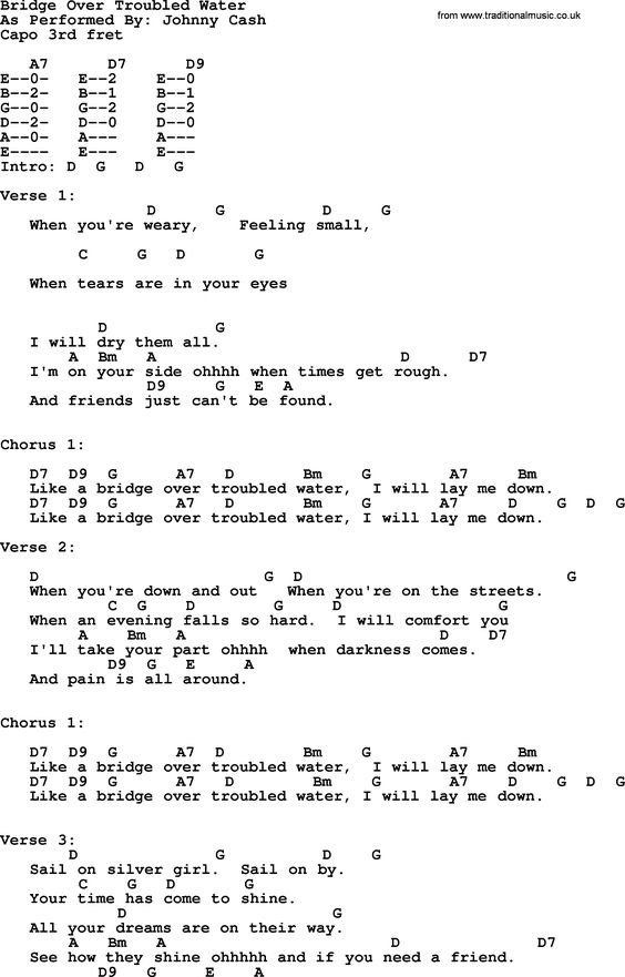Johnny Cash song Redemption Day, lyrics and chords | Guitar ...