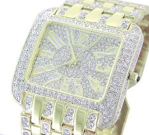 *WOW* Ladies / Mens 18K GOLD Plated BLING Watch Made with SWAROVSKI Elements, (xoxo, watches, casual watch, wrist watches)