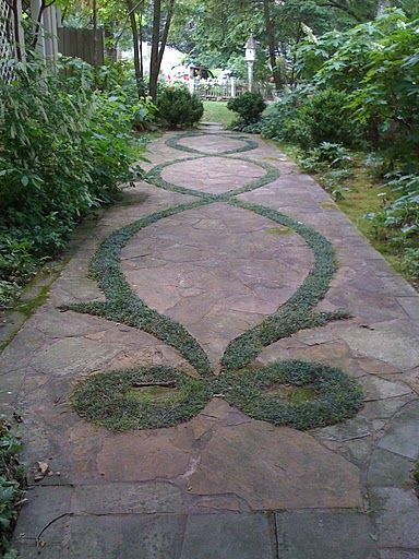 Gorgeous design for a pathway.