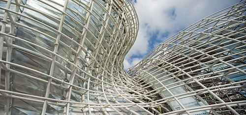 Miralles Tagliabue EMBT — Spanish Pavilion for Shanghai World Expo 2010 | underlying structure