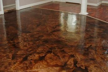 Stained Concrete Concrete Floors And Acid Stained