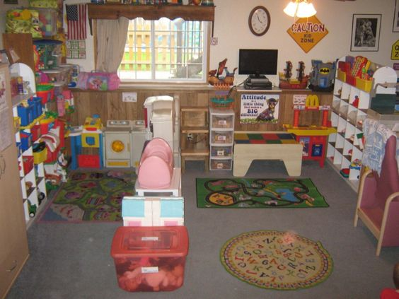 Daycares home daycare and daycare setup on pinterest for Daycare kitchen ideas