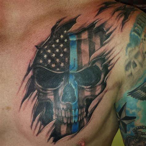 Police Tattoo 1 Asterisk Tattoo Law Enforcement Tattoos Sleeve Tattoos Police Tattoo