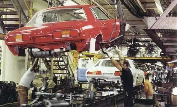 Mustang II Network - Mustang II Network - IMSA Assembly line and other misc pohotos Photos