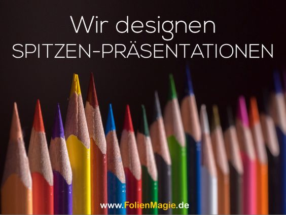 Wir zeigen Ihnen, dass Powerpoint mehr kann als Bulletpoints, Textwüsten und Zahlenfriedhöfe. Mehr unter: www.FolienMagie.de