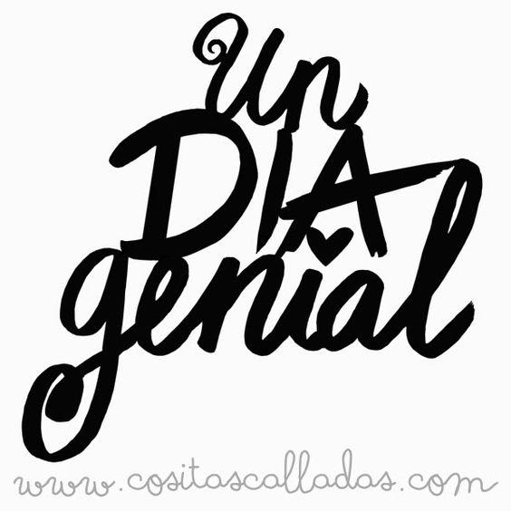 Susurros y otras cositas calladas: Scrapbook en Cartagena: Nuevo archivo de corte: Un día genial
