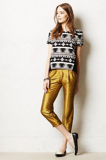 Lumi Trousers #anthropologie