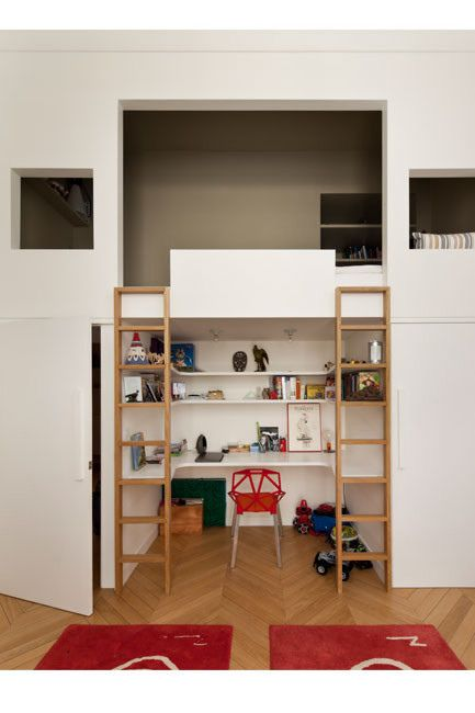 I Absolutely Love This Loft Bed It S Like A Room With In