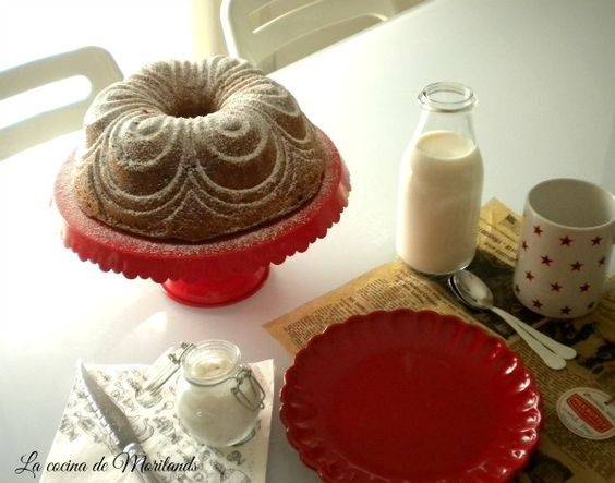 BUNDT CAKE de canela y nueces (La Cocina de Morilands)