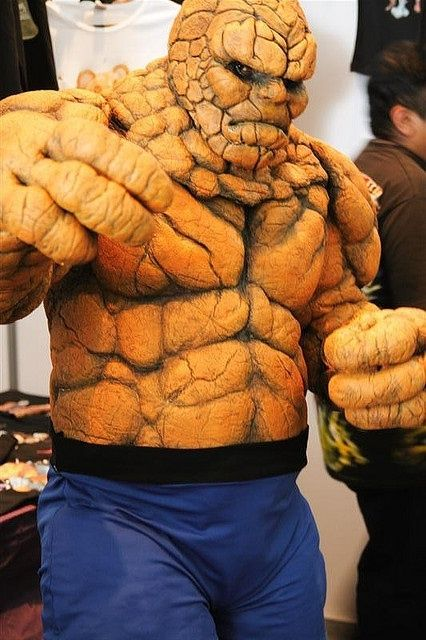 The Thing, Fantastic Four | http://cosplaycollections832.blogspot.com
