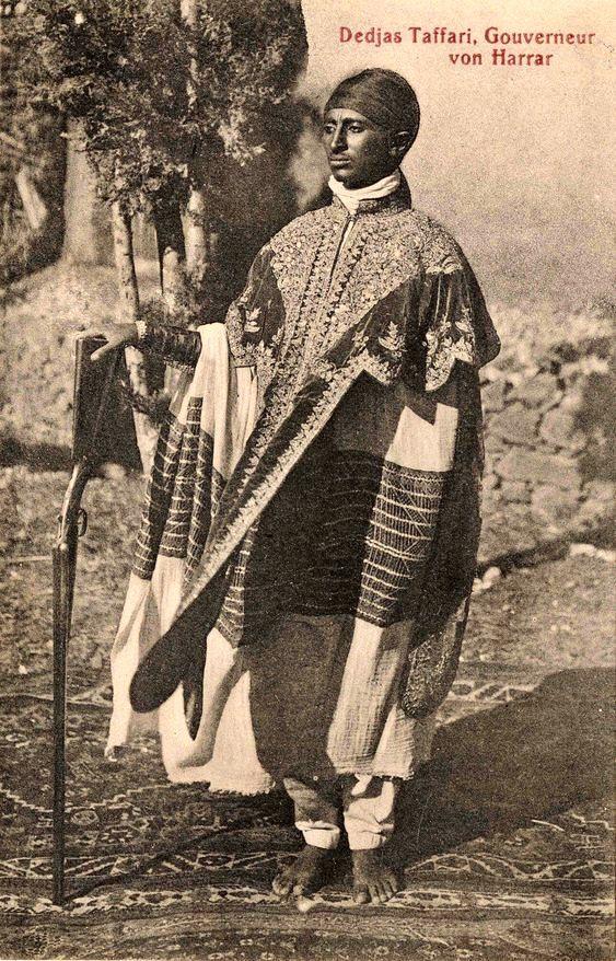 Dejazmatch Tafari Makonnen, Governor of Harar | African royalty, African history, Reggae art